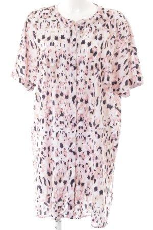 Vero Moda Hemdblusenkleid abstrakter Druck extravaganter Stil