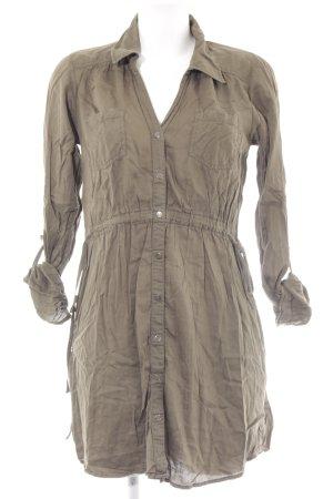 Vero Moda Shirtwaist dress khaki casual look