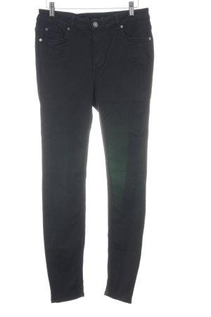 Vero Moda Pantalone a vita alta nero stile casual