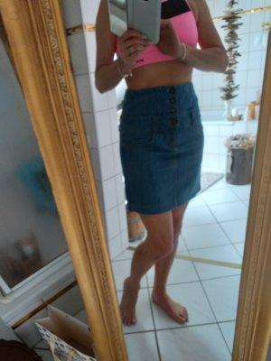 Vero Moda Denim Skirt azure-cornflower blue
