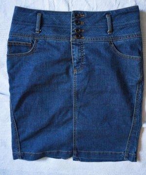 Vero Moda High Waist Jeansrock