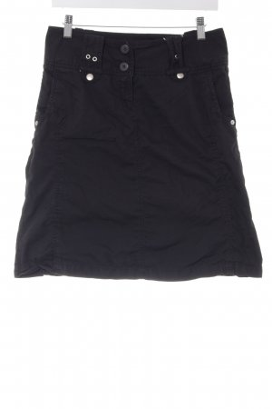 Vero Moda High Waist Rock schwarz Casual-Look