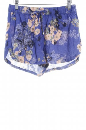 Vero Moda High-Waist-Shorts Blumenmuster Beach-Look