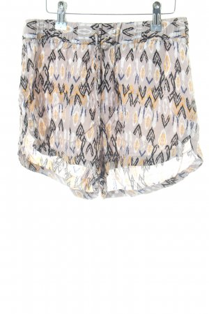 Vero Moda High-Waist-Shorts Allover-Druck Casual-Look