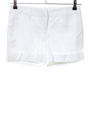 Vero Moda High-Waist-Shorts weiß Casual-Look