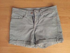 Vero Moda Hot Pants blau weiß gestreift W26