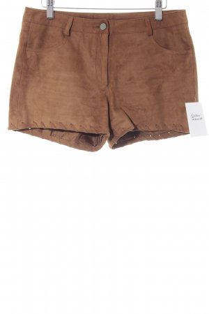 Vero Moda Hot Pants camel Country-Look