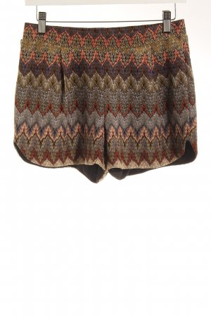 Vero Moda Hot Pants Ornamentenmuster Casual-Look