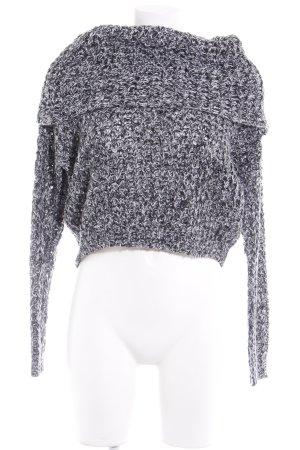 Vero Moda in Blue Rollkragenpullover schwarz-weiß Casual-Look