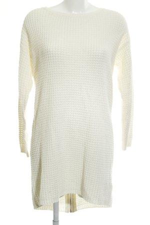 Vero Moda in Blue Robe en maille tricotées blanc cassé style décontracté