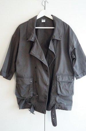 Vero Moda Jacke Blazer Biker-Look grau anthrazit Damenmode oversize 38 40 42 44