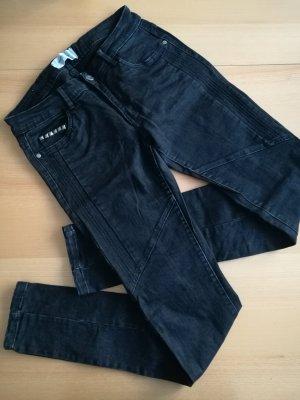 Vero Moda Jeans Bikerjeans Nietenjeans