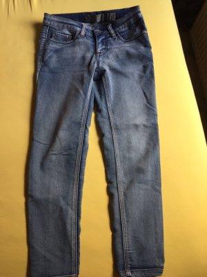 Vero Moda Jeans a 7/8 blu Cotone