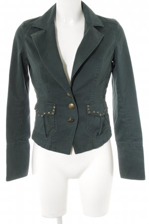 Vero Moda Denim Blazer forest green casual look