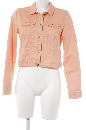 Vero Moda Jeansjacke apricot Casual-Look