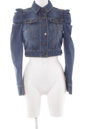 Vero Moda Jeansjacke dunkelblau-blassblau extravaganter Stil
