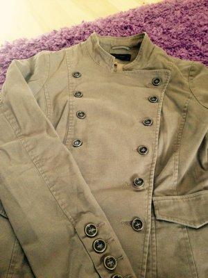 vero moda jeansjacke khaki 36