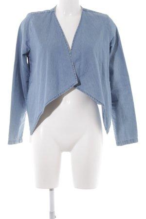 Vero Moda Jeansjacke kornblumenblau Bleached-Optik