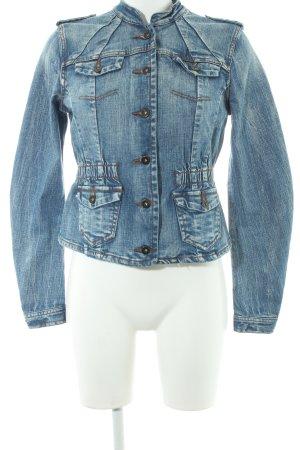 Vero Moda Jeansjacke kornblumenblau Casual-Look