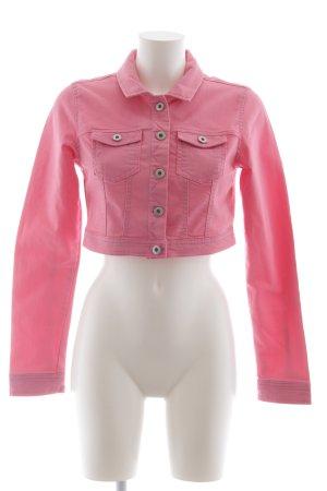 Vero Moda Jeansjacke rosa extravaganter Stil