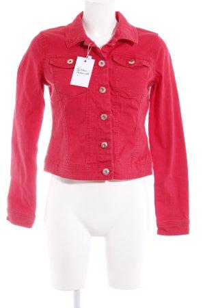Vero Moda Jeansjacke ziegelrot Casual-Look