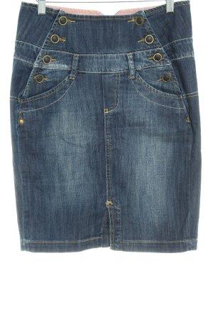 Vero Moda Jeansrock dunkelblau extravaganter Stil