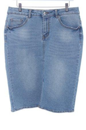 Vero Moda Jeansrock kornblumenblau Casual-Look