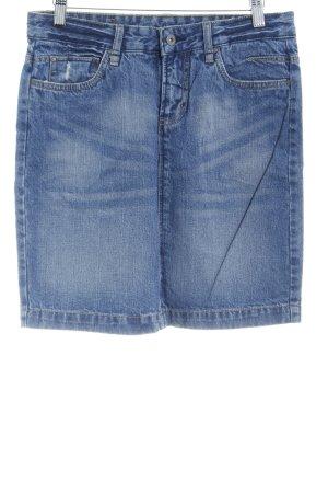 Vero Moda Jeansrock stahlblau klassischer Stil