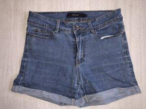Vero Moda Pantalón corto de tela vaquera azul celeste-azul acero