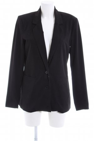 Vero Moda Jersey Blazer black business style