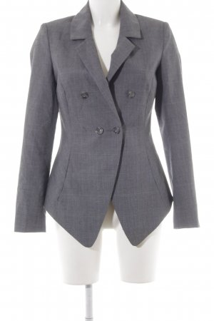 Vero Moda Jerseyblazer grau-schwarz Glencheckmuster Business-Look