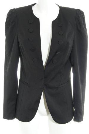 Vero Moda Jerseyblazer schwarz Dandy-Look