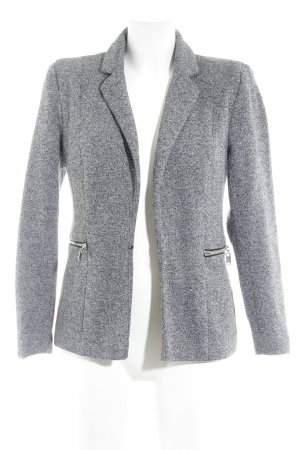 Vero Moda Jerseyblazer schwarz-grau meliert Casual-Look
