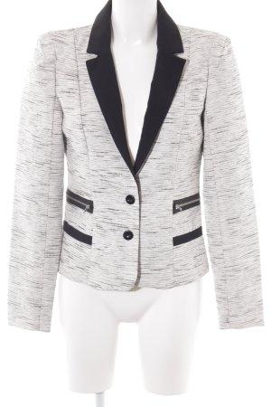Vero Moda Jerseyblazer schwarz-weiß meliert Elegant