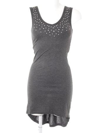 Vero Moda Jerseykleid dunkelgrau Casual-Look