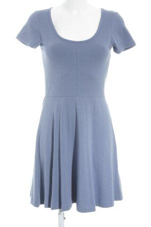 Vero Moda Jerseykleid graublau schlichter Stil