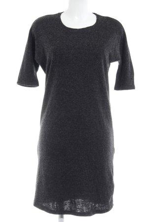 Vero Moda Jerseykleid taupe-schwarz meliert Casual-Look