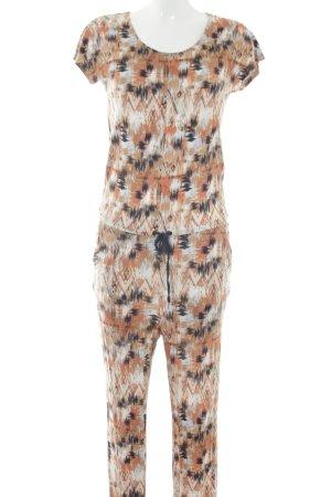 Vero Moda Jumpsuit abstraktes Muster Casual-Look