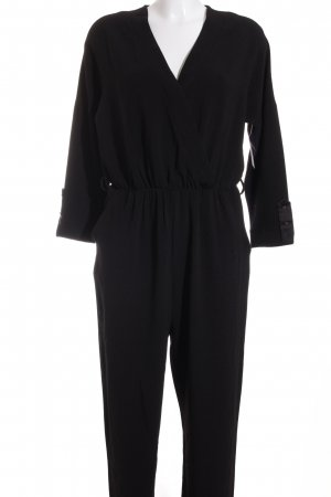 Vero Moda Jumpsuit schwarz Wickel-Look
