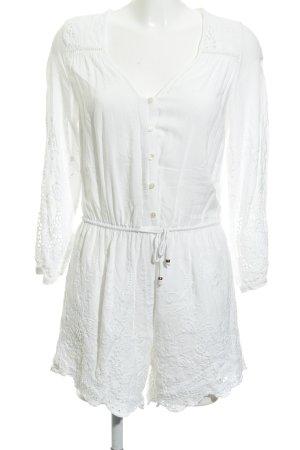 Vero Moda Combinaison blanc style décontracté