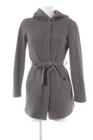 Vero Moda Manteau à capuche gris foncé style décontracté