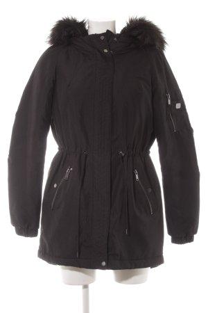 Vero Moda Cappotto con cappuccio nero stile casual
