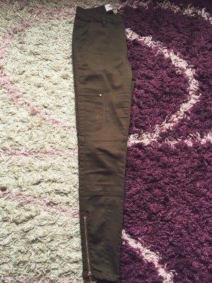 Vero Moda Khaki Skinny Push Up Jeans