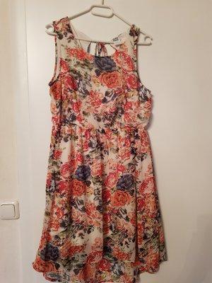 Vero Moda Kleid Chiffon Größe L Blumen