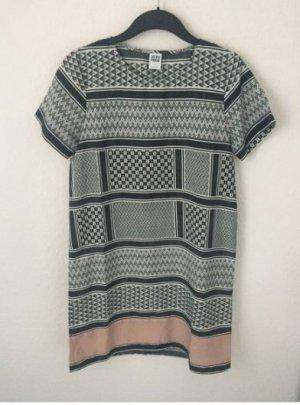Vero Moda Kleid Ethno Indie Hippie Boho Minikleid Shirtkleid L