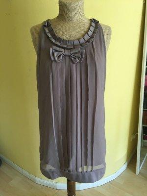 Vero Moda Balloon Dress grey brown