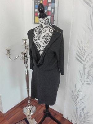 Vero Moda Kleid Größe L mit superschönem Wasserfallkragen