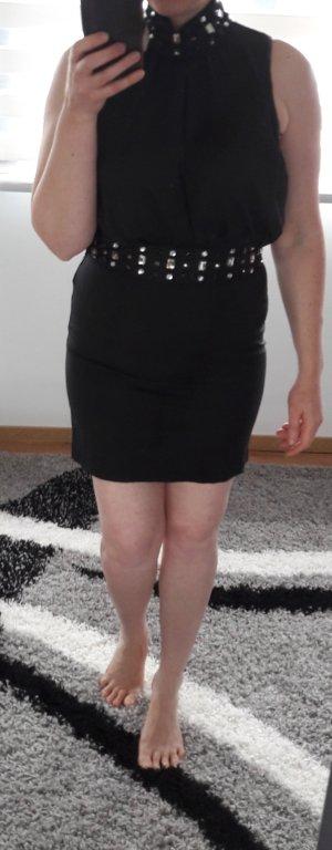 Vero Moda Kleid Party Minikleid Coctailkleid Abendkleid Gr L 40 Perlen Neu