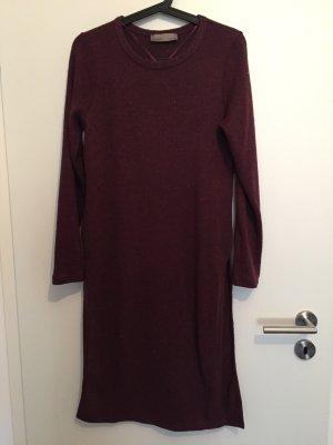 Vero moda Kleid Pullover Strick Bordeaux 38