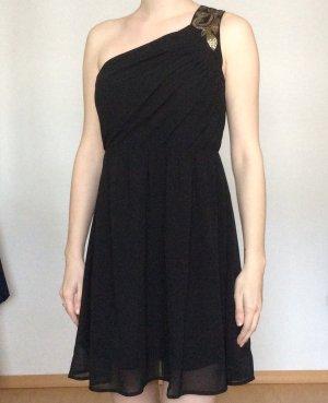 Vero Moda Kleid schwarz mit Goldenen Palietten